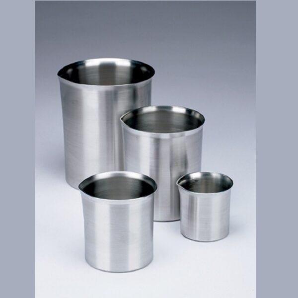 Beakers, metal