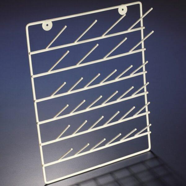 Metal draining racks