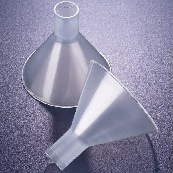 Funnels, plastic
