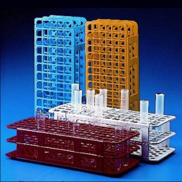 Racks, test tube, plastic